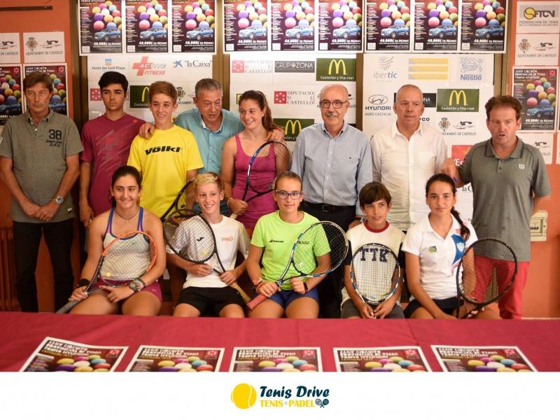Circuito Tenis : PresentaciÓn del xxxiv circuito provincial de tenis de castellÓn